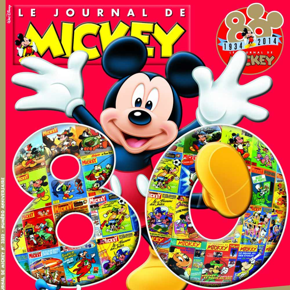 Journal de Mickey : une bonne idée pour favoriser la lecture